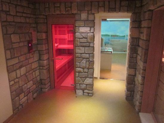 Hotel Butgenbacher-Hof: Sauna infrarouge (nudité obligée)