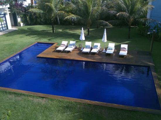 Pousada da Espera: Vista da piscina aquecida
