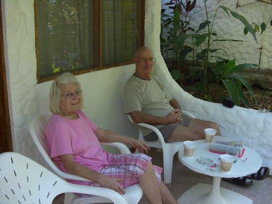 Hotel Las Brisas del Pacifico: Am Morgen auf der Terasse