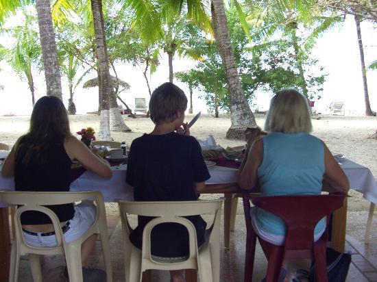 Hotel Las Brisas del Pacifico: Frühstück mit Blick auf das Meer