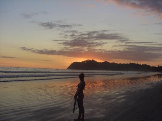 Hotel Las Brisas del Pacifico: Sonnenuntergang
