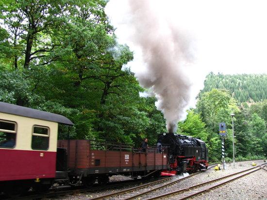 Der Kraueterhof: Im Bahnhof