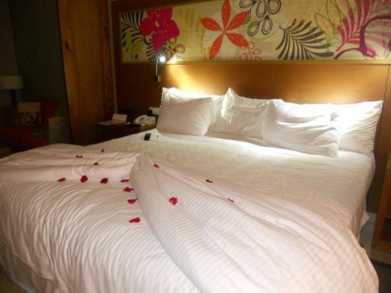 Secrets Royal Beach Punta Cana: o quarto arrumadinho pra nos esperar