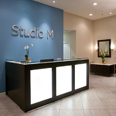 Studio M Salon and Spa Reception Area