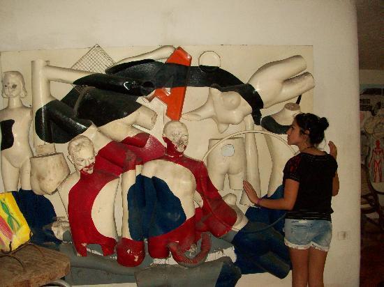 Hotel Trinidad Galeria: Parte de su exposición