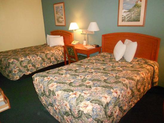 Americas Best Value Inn: Camas Queen Bed
