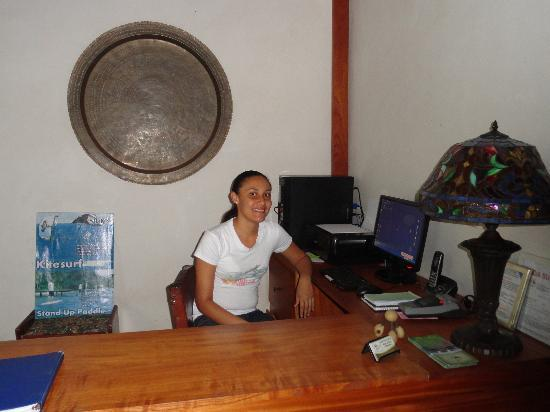 Hotel Casa de Campo Pedasi: Judy will attend to your every need..