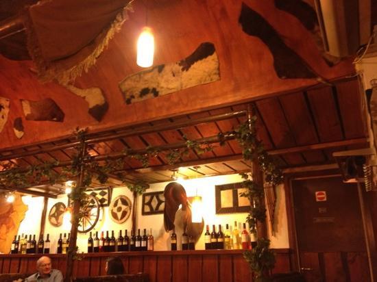 El Rancho: le plafond