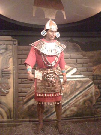 Colchagua Museum: An Inca Warrior