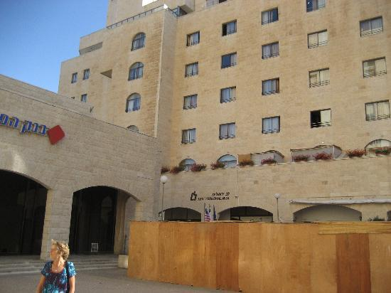 Lev Yerushalayim: Front af hotel