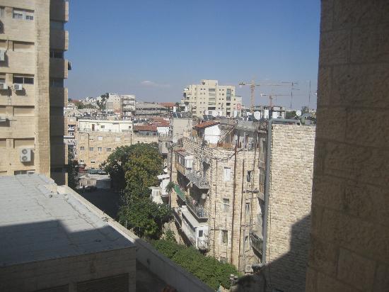 Lev Yerushalayim: Udsigt