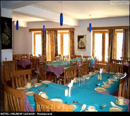 Hotel Holiday Ladakh: restaurant