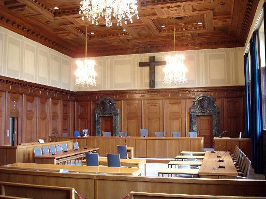 Gerichtssaal Deutschland
