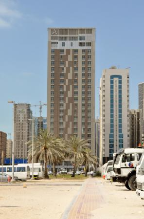 Hala Arjaan by Rotana Abu Dhabi: the hotel from the outside