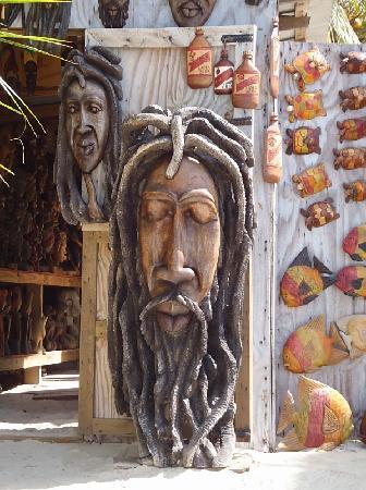 Seven Mile Beach : Vendor Art