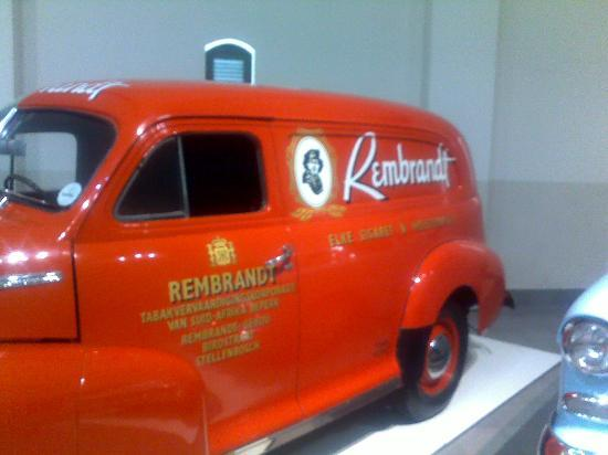 Franschhoek, South Africa: Vehicle branding