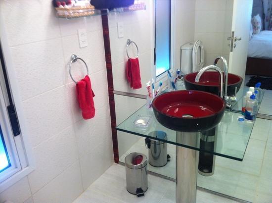 Red Wind B&B : banheiro