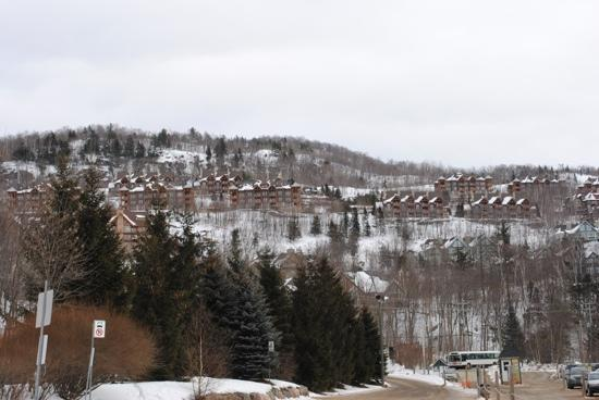 Embarc Tremblant: Looking away from the mountain