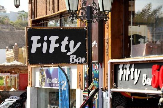 Fifty Sports Bar: our Bar