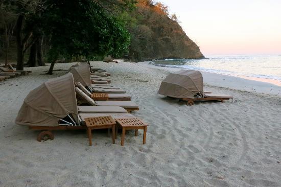 Four Seasons Resort Costa Rica at Peninsula Papagayo: The beach in the evening