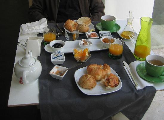 Hotel Viento10: Petit déjeuner