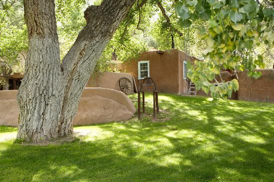 A quiet corner at Rancho Nambe