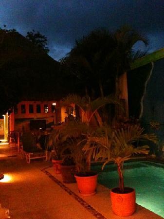 Casita de Maya: cour intérieure