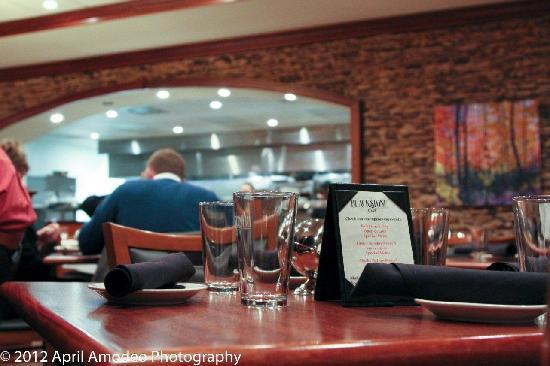 Blackstone Grill: Open kitchen