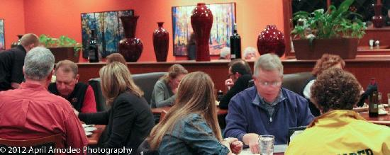 Blackstone Grill: Enjoy conversation in our relaxed atmosphere