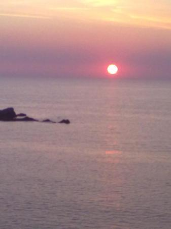 Hotel Nettuno: tramonto sul mare