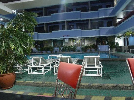 Pool View Picture Of Hotel America Angeles City Tripadvisor