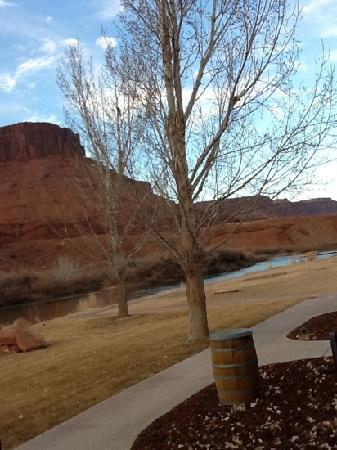 Sorrel River Ranch Resort: view from our porch