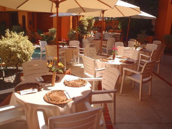 """Villas Miramar: Restaurant Bar """"El Jardin"""""""