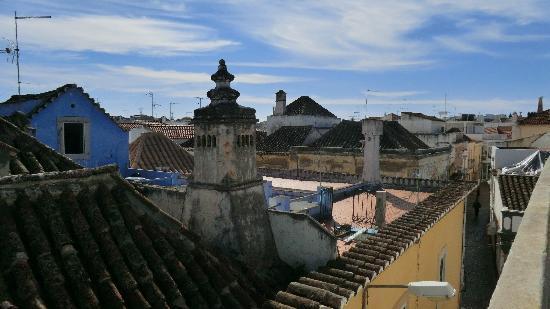 Casa Beleza do Sul : Tavira rooftops from the terrace