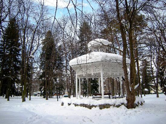 Vrnjacka Banja, Serbia: Winter Fairytale