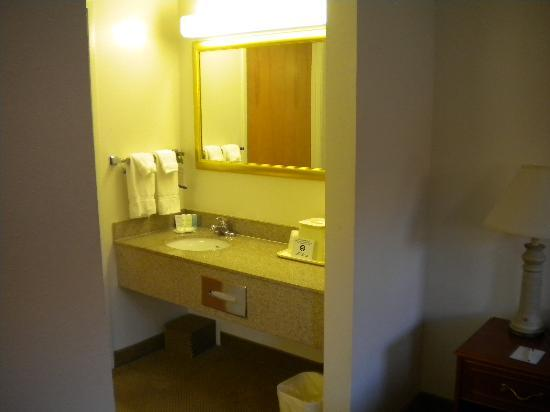 Comfort Suites Arena: Bathroom