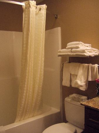 Candlewood Suites Pittsburgh Cranberry : Bathroom