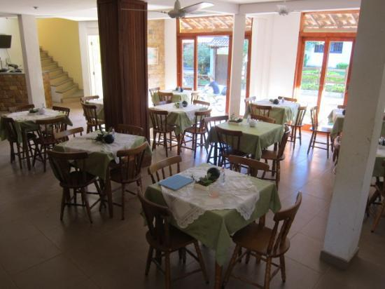 ‪‪Yes Hotel Pousada‬: dining room / breakfast area‬