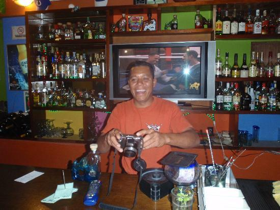 Miguelocos Grill and Cantina: great bartender at Migueloco's