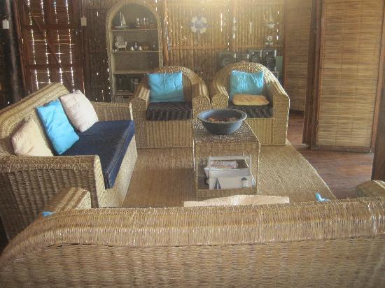 Barra Cuda Lodge: Sitting area