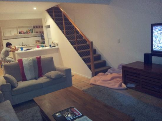 Skippers Cove: Lounge/Kitchen
