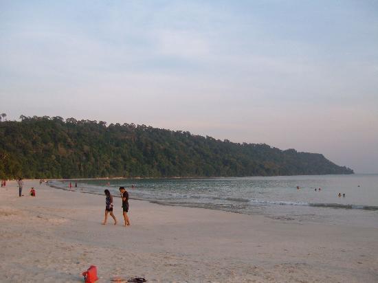 Radhanagar Beach : Beach