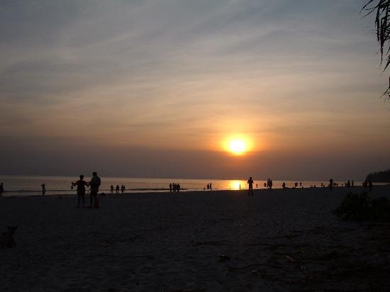 Radhanagar Beach : Sunset