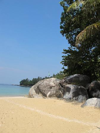 Amanpuri: The private beach