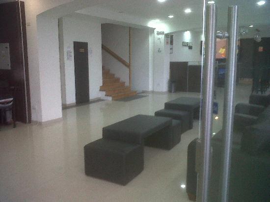 Hotel Monte Cervino: hall de entrada
