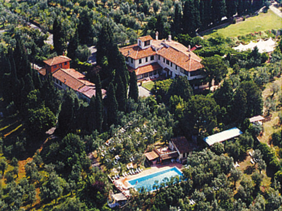 Villa Le Rondini: Vista Aerea