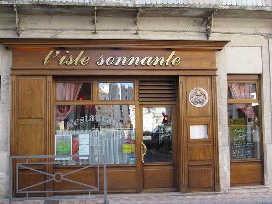 L'Isle Sonnante : お店の外観
