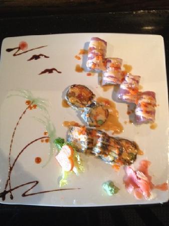 Fusion Asian Restaurant: sushi