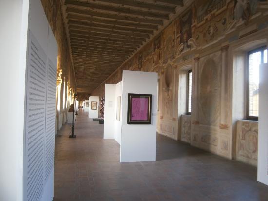Hotel Giulia Gonzaga: Corridor Grande at Palazzo Giardino, Sabbioneta 1587