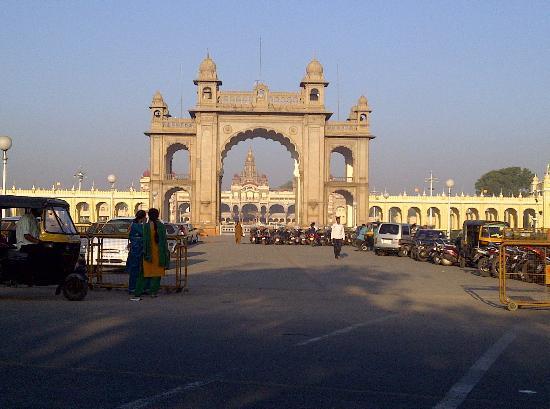 Pałac Mysore: Main Entry Gate